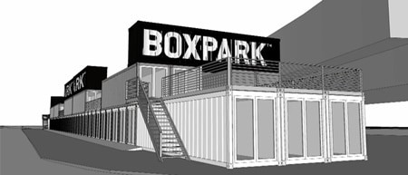 A pop up mall made from 60 shipping containers Business