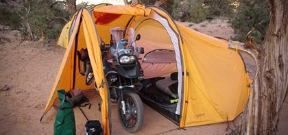 The Philippines has a tremendous growing motorcycle riders and there is a demand for this new tent design from Denver-based Redverz Gear that provides an ... & Camping Tent for motorcycle riders - Business Ideas - NegosyoIdeas