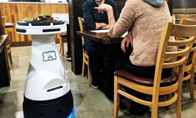 Robot as servers in restuarants