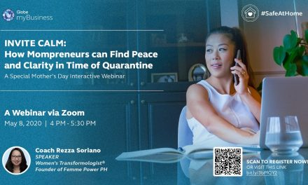 Special Webinar for Mompreneurs in time for Mother's Day