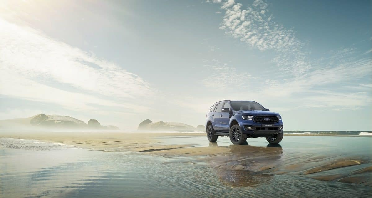 The All-New Ford Everest Sport Edition