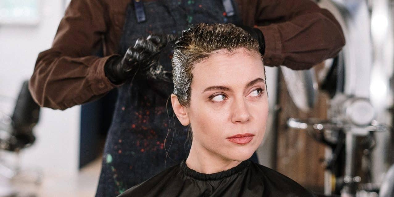 Less-Harsh Hair Dye Using Synthetic Melanin