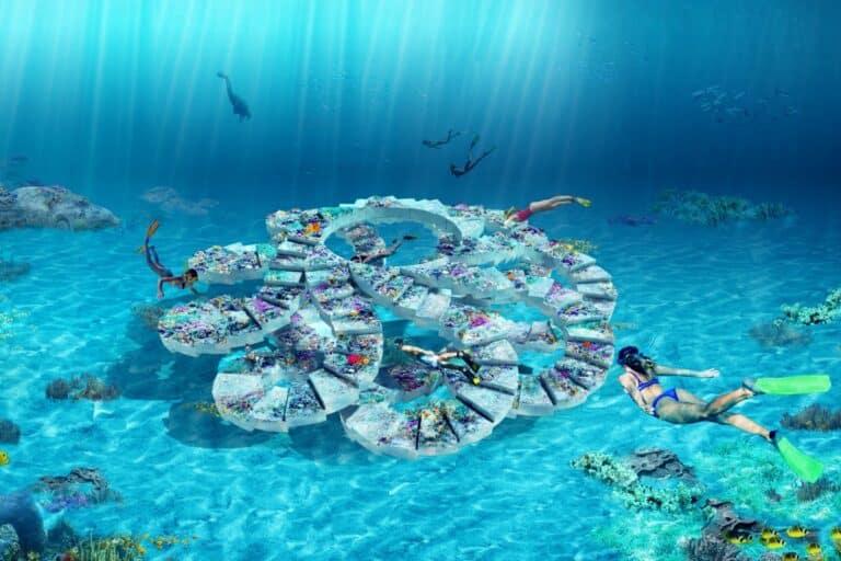 An Underwater Reef Park